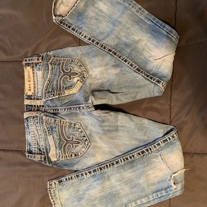 """Rock Revival 27R - have been hemmed to 29"""""""